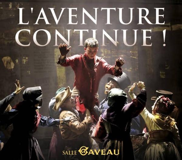 Oliver Twist, le Musical à la Salle Gaveau