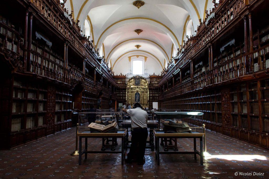 Biblioteca Palafoxiana Puebla - DR Nicolas Diolez 2016