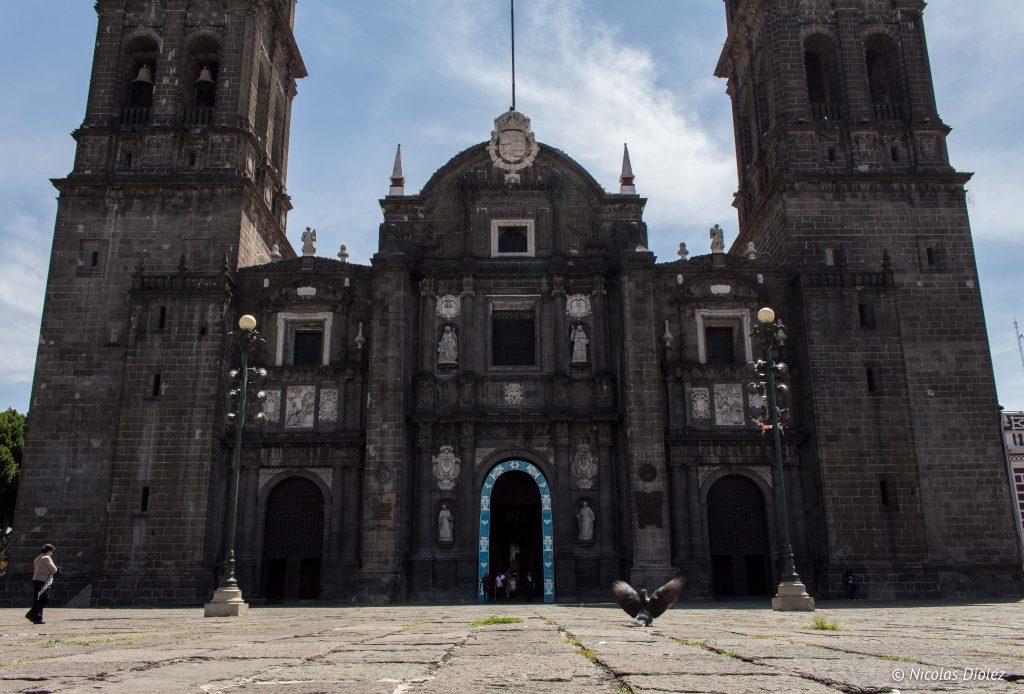 Cathedrale Puebla - DR Nicolas Diolez 2016