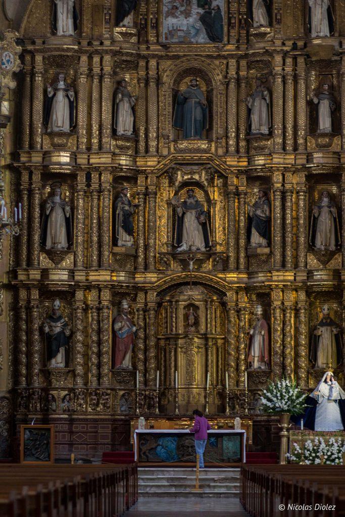 Eglise Santo Domingo Puebla - DR Nicolas Diolez 2016