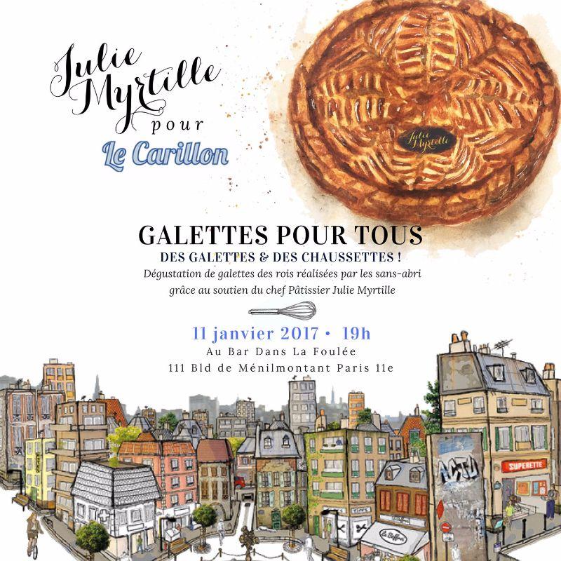 Julie Myrtille pour Le Carillon Carre