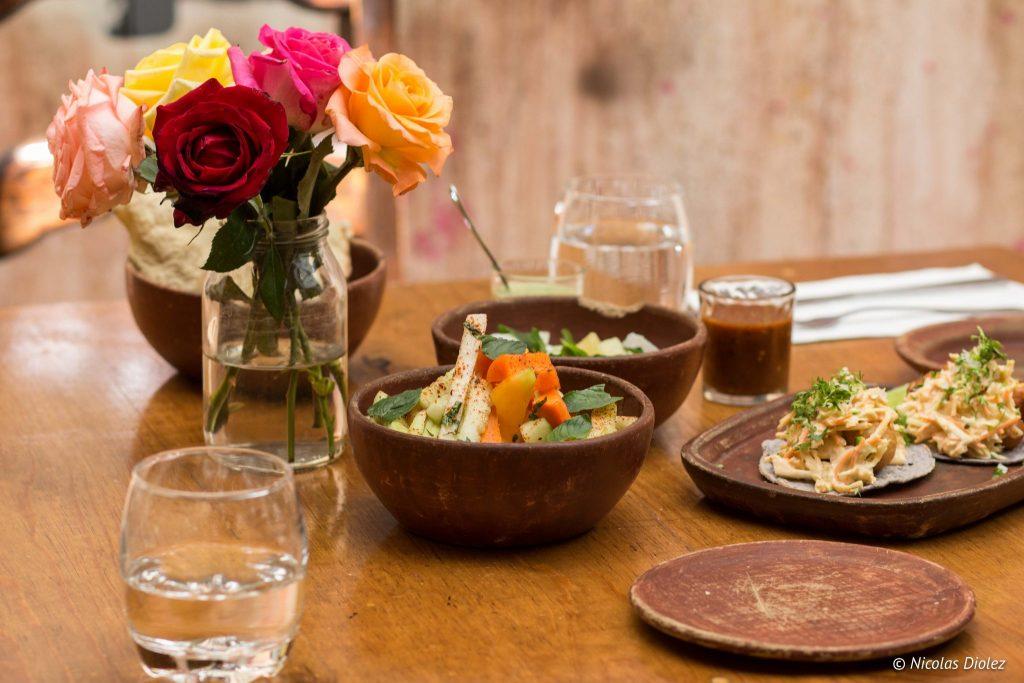restaurant El Destilado Oaxaca Mexique - DR Nicolas Diolez 2016