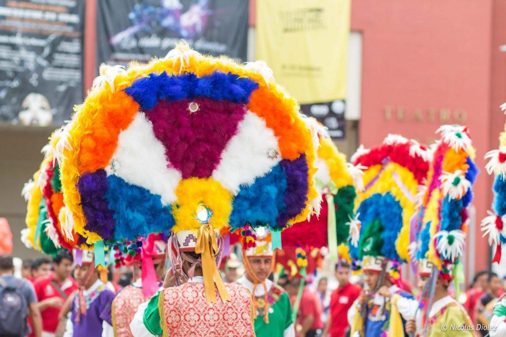 Danseurs Oaxaca Mexique - DR Nicolas Diolez 2016