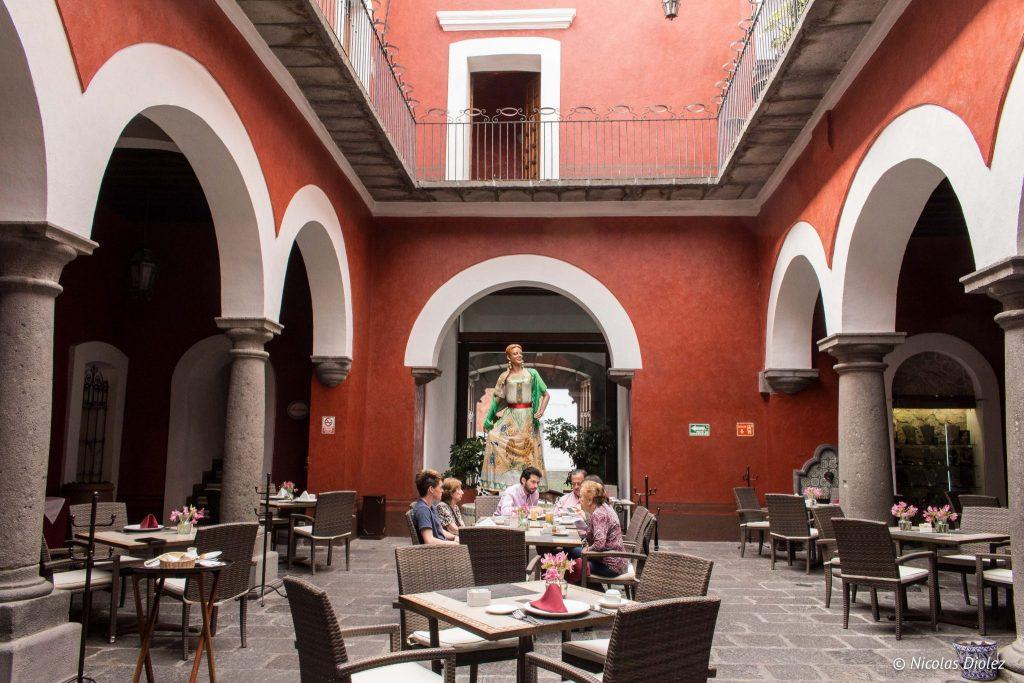 Hotel Boutique Casona de la China Poblana Puebla - DR Nicolas Diolez 2016