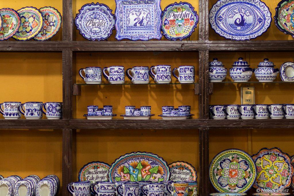 ceramique Talavera Puebla - DR Nicolas Diolez 2016