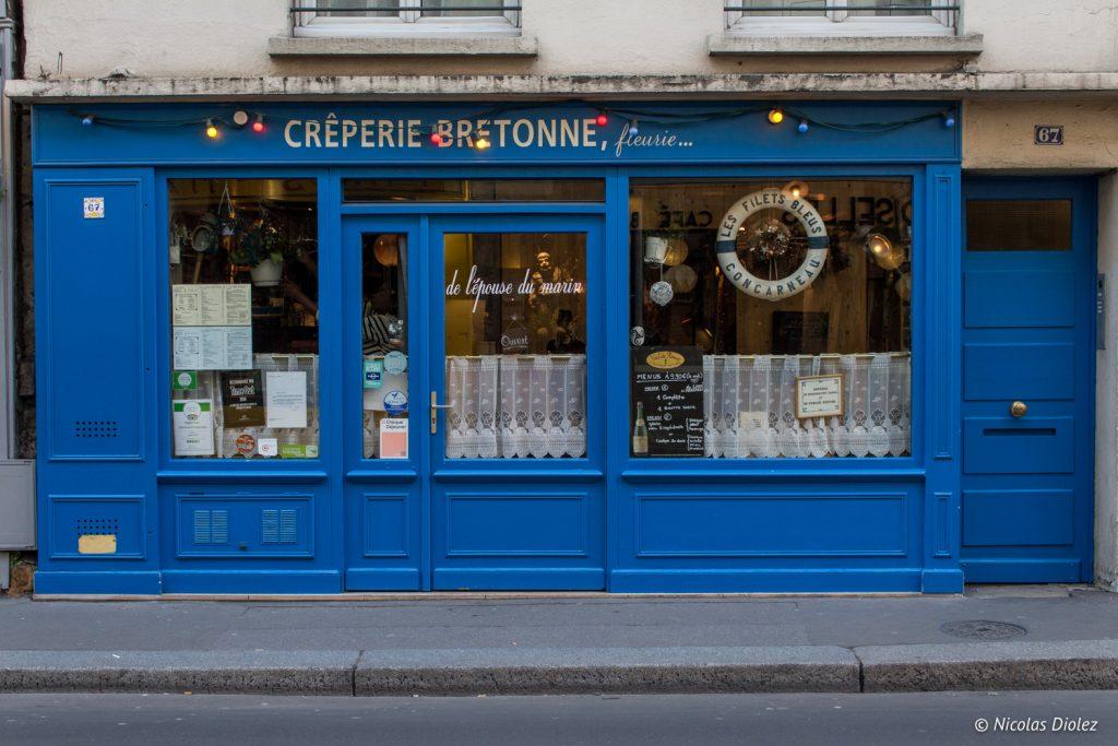 La creperie bretonne fleurie - DR Nicolas Diolez 2017