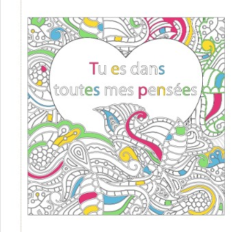 Messages à Colorier des Éditions 365
