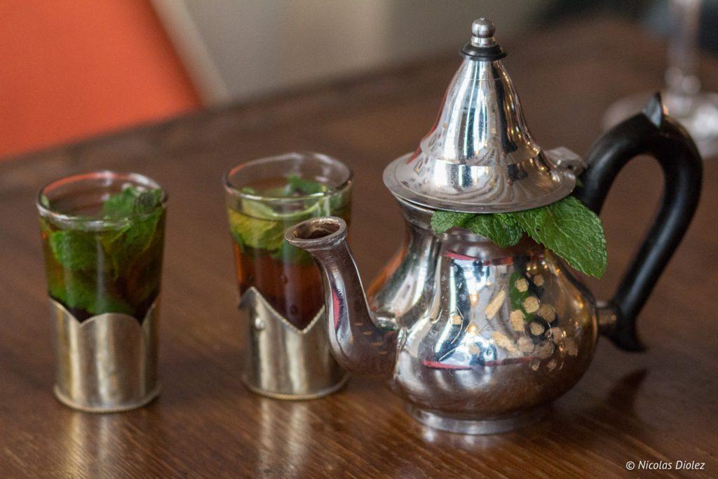 thé à la menthe Mechoui du prince Paris - DR Nicolas Diolez 2017