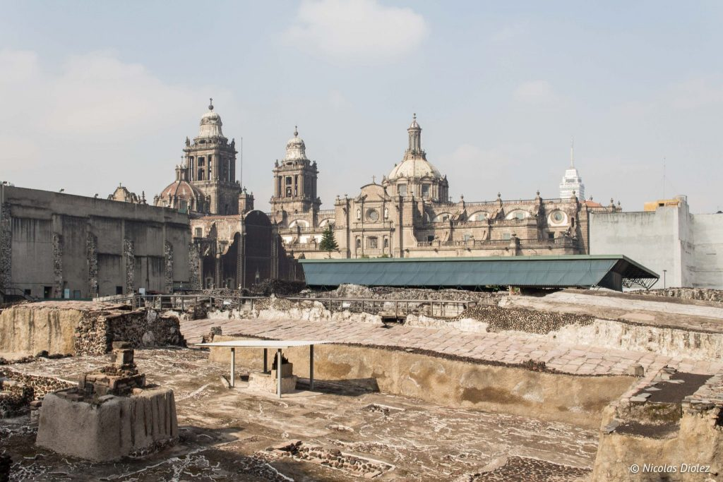 Templo Mayor Mexico city - DR Nicolas Diolez 2016