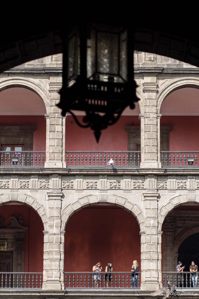 Palacio Nacional Mexico city - DR Nicolas Diolez 2016