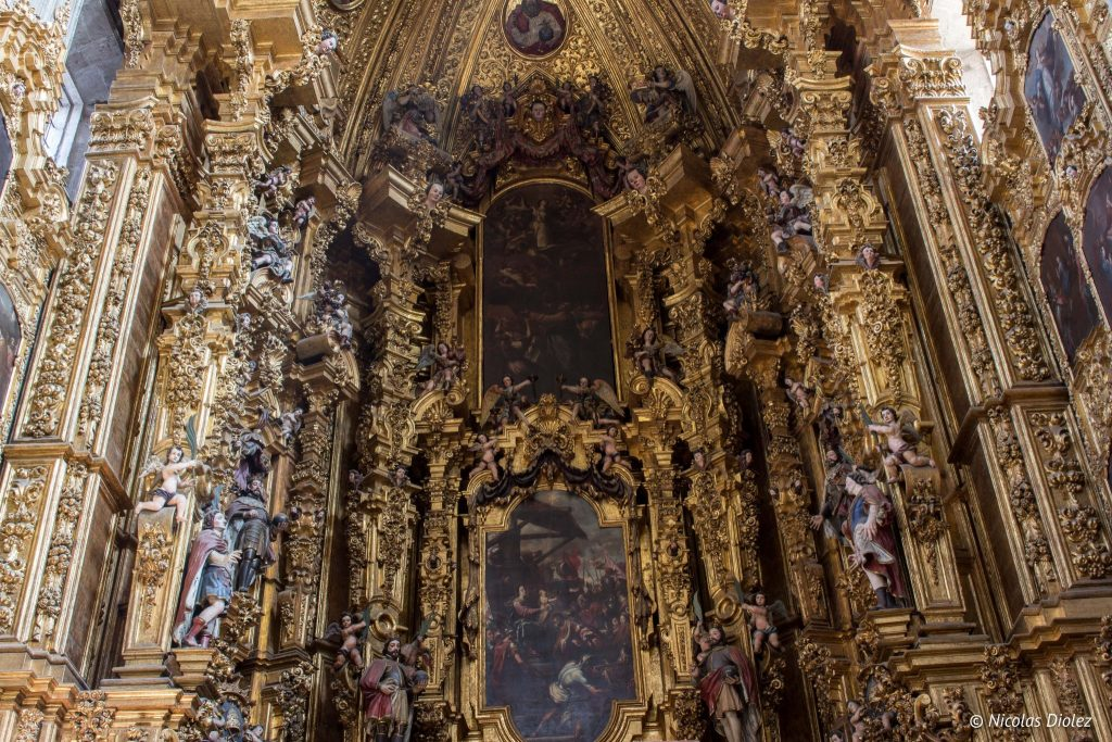 Catedral Metropolitana Mexico city - DR Nicolas Diolez 2016