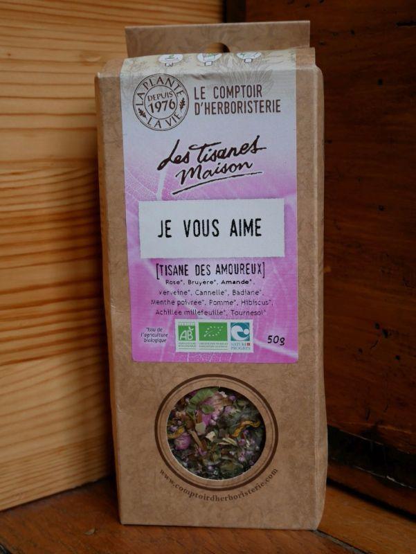 Tisane des amoureux Comptoir Herboristerie - DR Melle Bon Plan 2017
