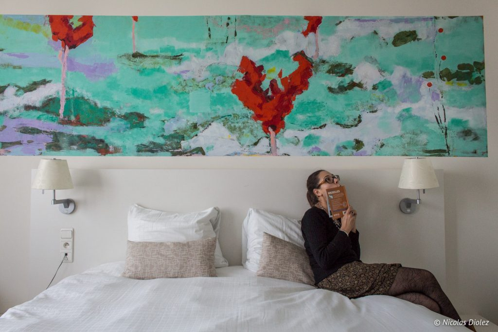 chambre Hotel bloom Bruxelles - DR Nicolas Diolez 2017