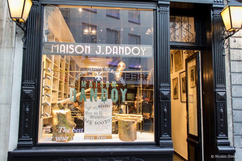 Maison Dandoy Bruxelles - DR Nicolas Diolez 2016