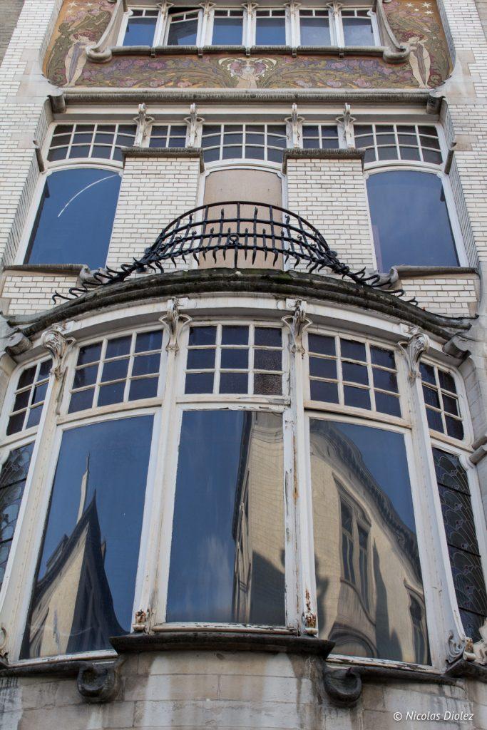 Facade art-deco Bruxelles - DR Nicolas Diolez 2017