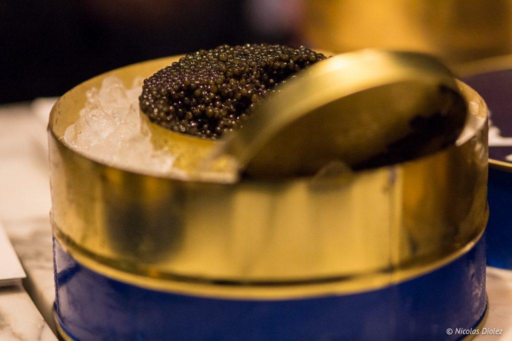 Caviar Kaviari menu Saint Valentin de la Brasserie Frame - DR Nicolas Diolez 2017