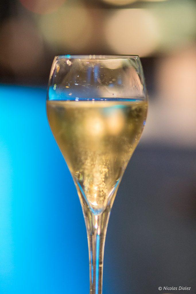 champagne menu Saint Valentin de la Brasserie Frame - DR Nicolas Diolez 2017