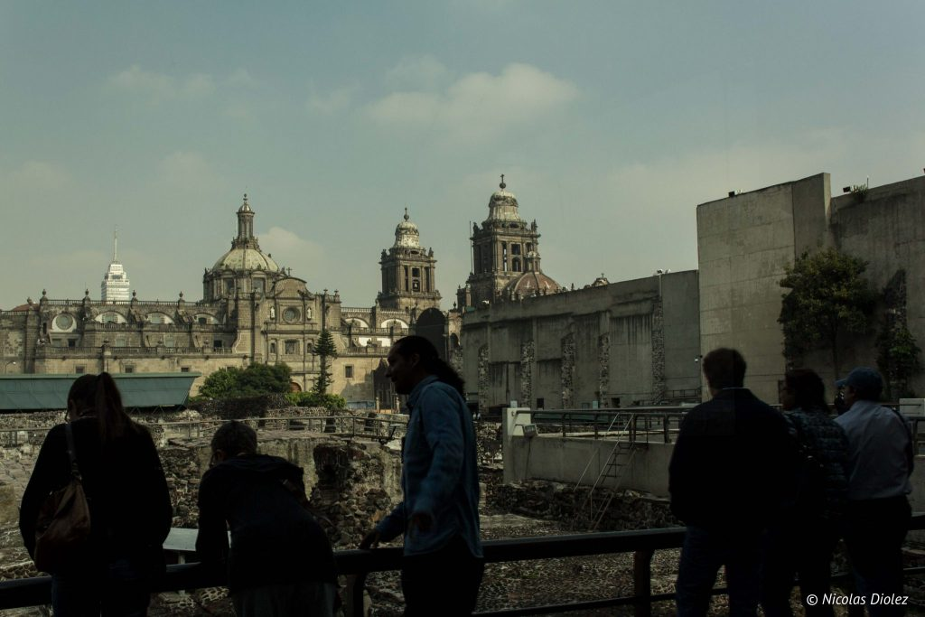 Templo Mayor Mexico city - DR Nicolas Diolez 2016