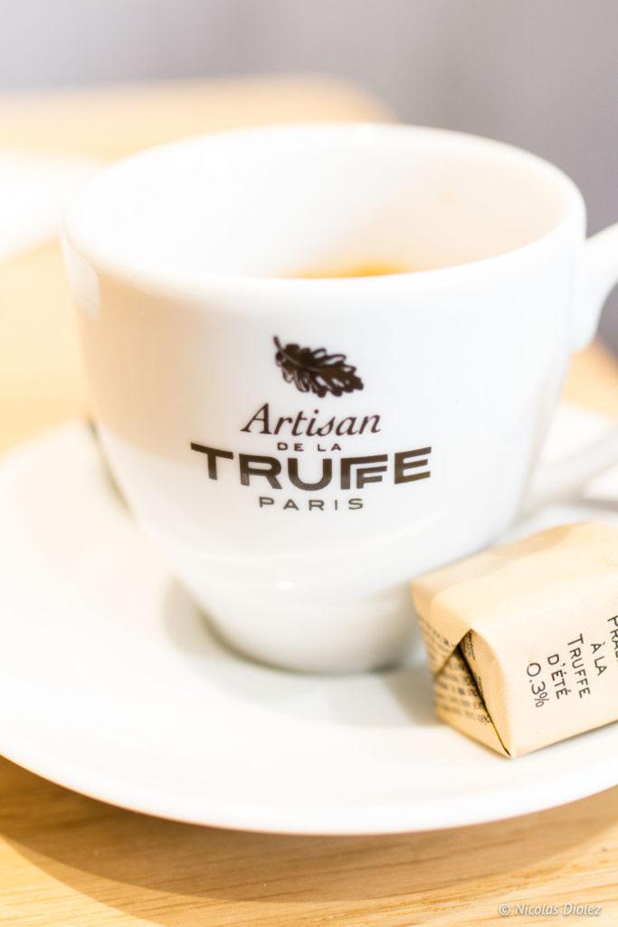 café Artisan de la Truffe Marais