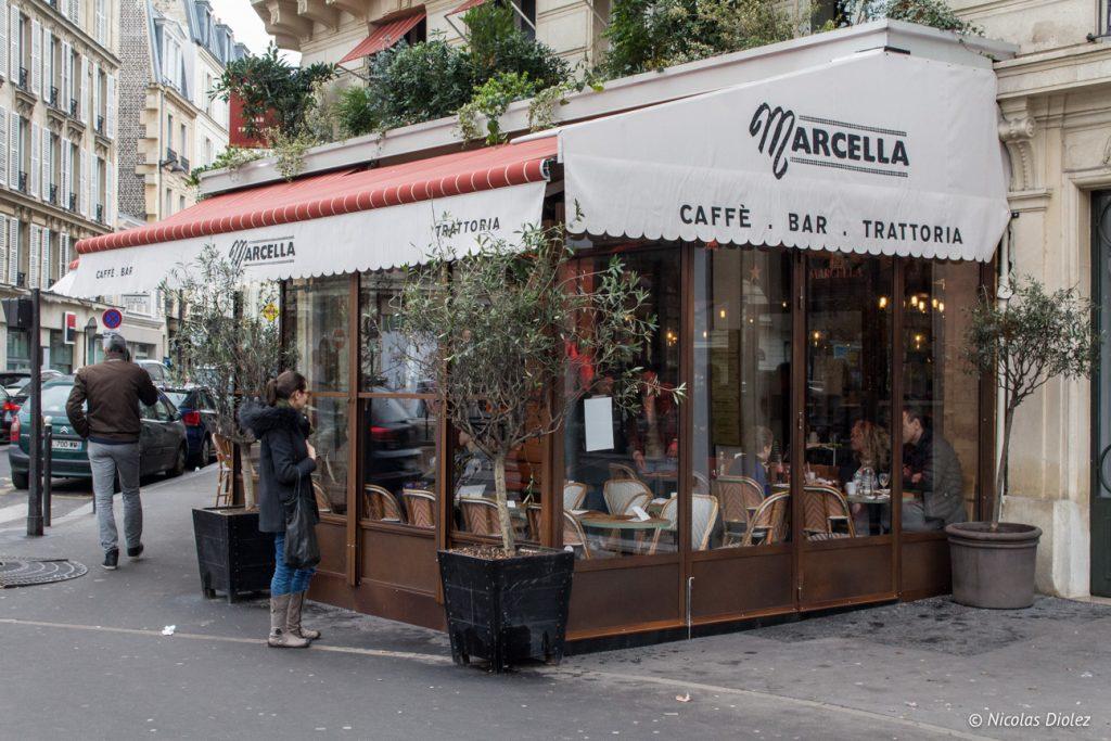 Trattoria Marcella Paris - DR Nicolas Diolez 2017