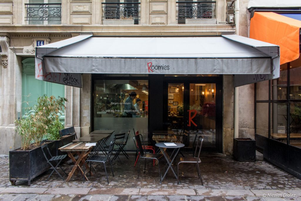 Roomies Burger Paris - DR Nicolas Diolez 2017