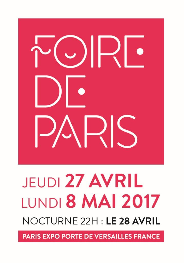 la foire de paris 2017 invitations mademoiselle bon plan. Black Bedroom Furniture Sets. Home Design Ideas