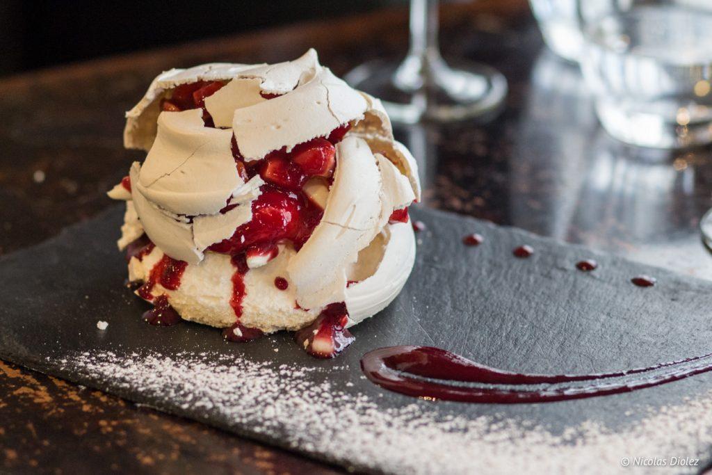 dessert Le Niv's Batignolles - DR Nicolas Diolez 2017