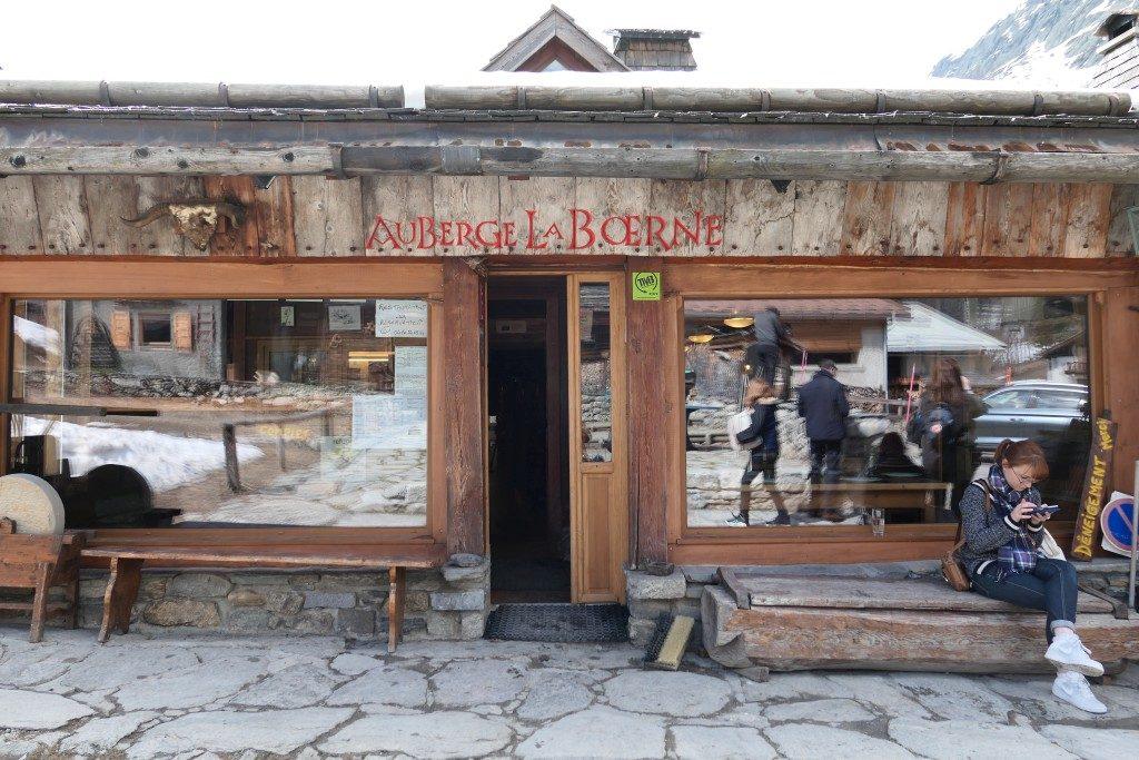 Auberge Refuge La Boerne Chamonix - DR Melle Bon Plan 2017