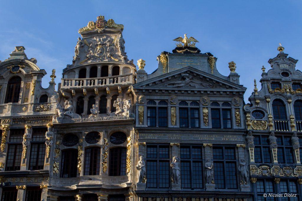 grand place Bruxelles - DR Nicolas Diolez 2016