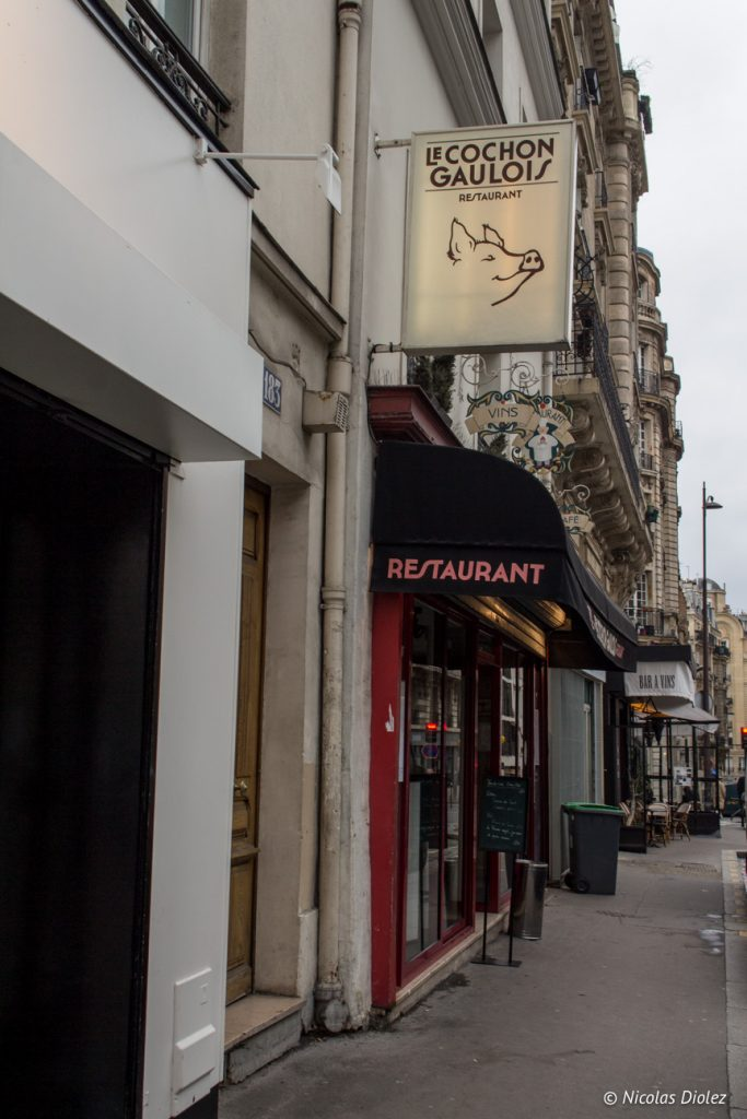 restaurant Cochon Gaulois Paris - DR Nicolas Diolez 2017