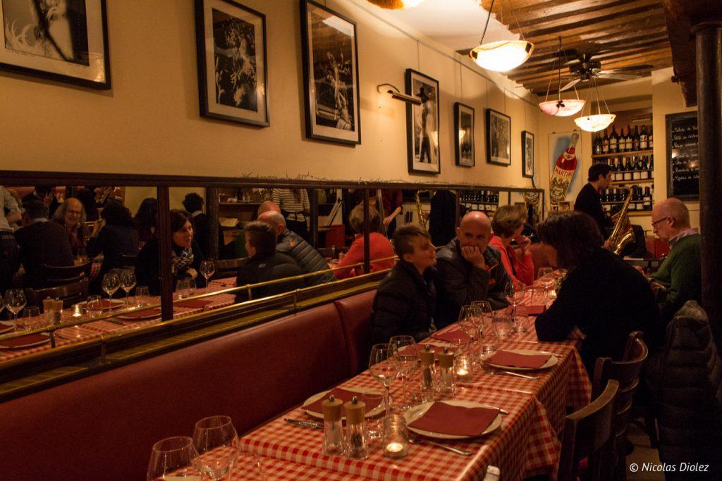 Restaurant Chez Fernand Paris - DR Nicolas Diolez 2017