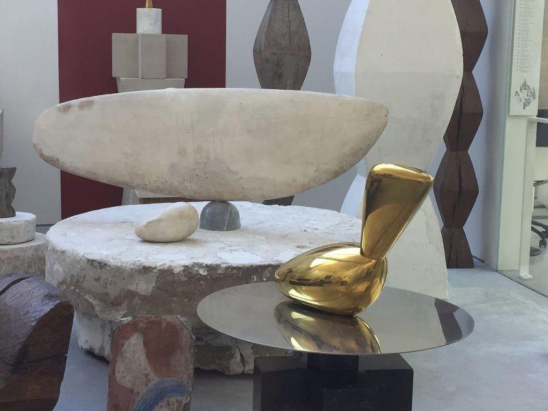 Exposition permanente atelier brancusi - DR valerie collet 2017