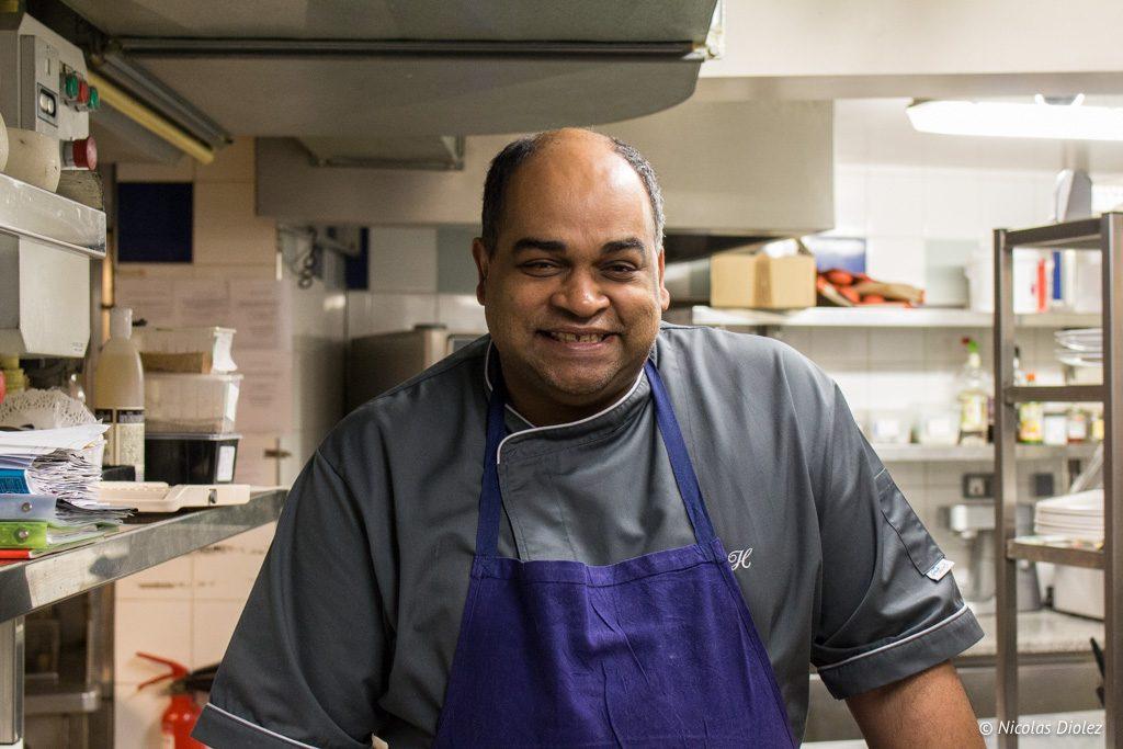 Antoine Heerah restaurant Chamarre Montmartre Paris - DR Nicolas Diolez 2017
