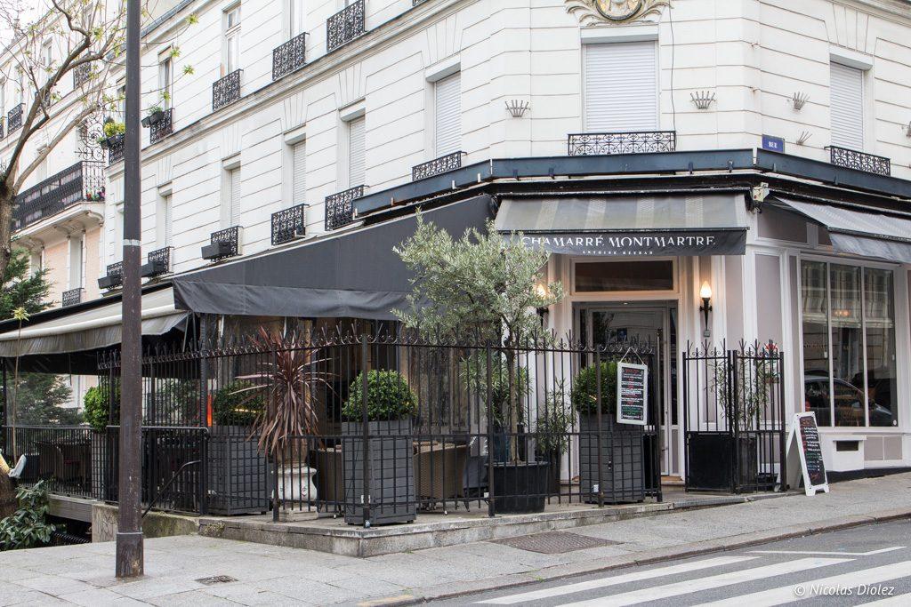 restaurant Chamarre Montmartre Paris - DR Nicolas Diolez 2017