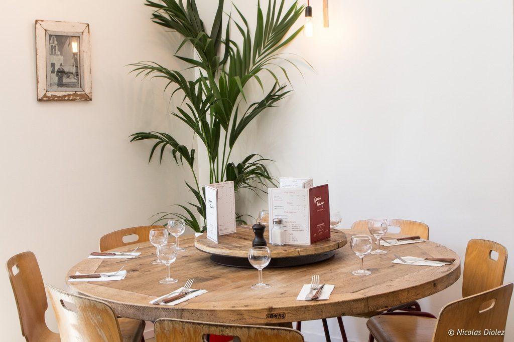 restaurant Gemini family Saint Ouen - DR Nicolas Diolez 2017