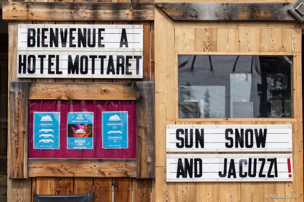 Hôtel Le Mottaret Madame Vacances Méribel - DR Nicolas Diolez 2017
