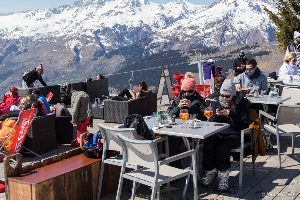 Restaurant L'Antigel La Rosiere - DR Nicolas Diolez 2017