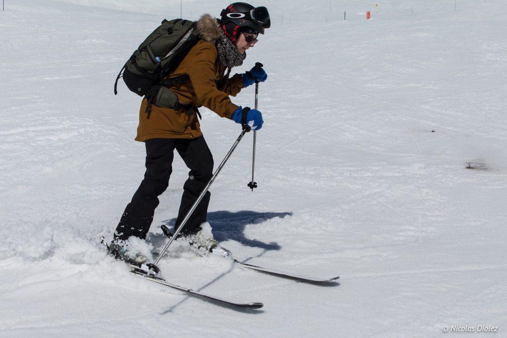 Tenue ski Volcom La Rosiere - DR Nicolas Diolez 2017