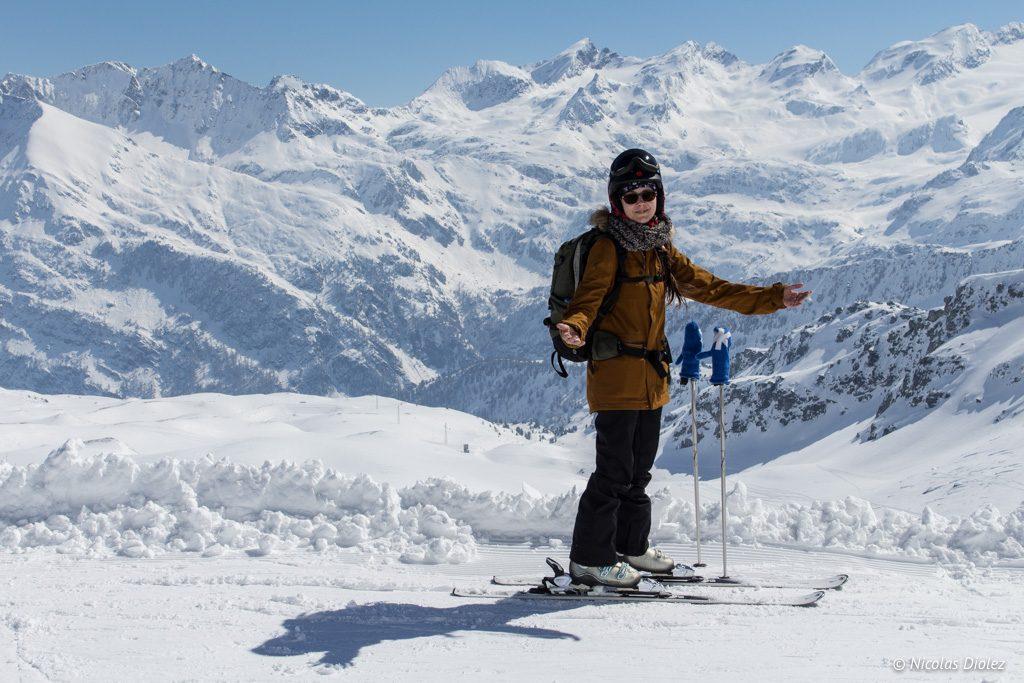 Melle Bon Plan ski La Rosiere - DR Nicolas Diolez 2017
