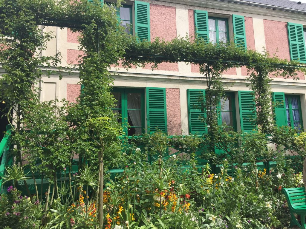 maison claude monet giverny -DR valérie Collet 2017