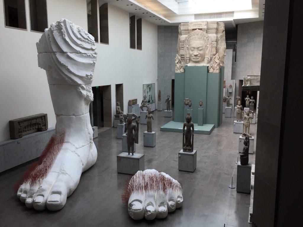 carte blanche Prune Nourry, musée Guimet-DR valérie Collet 2017