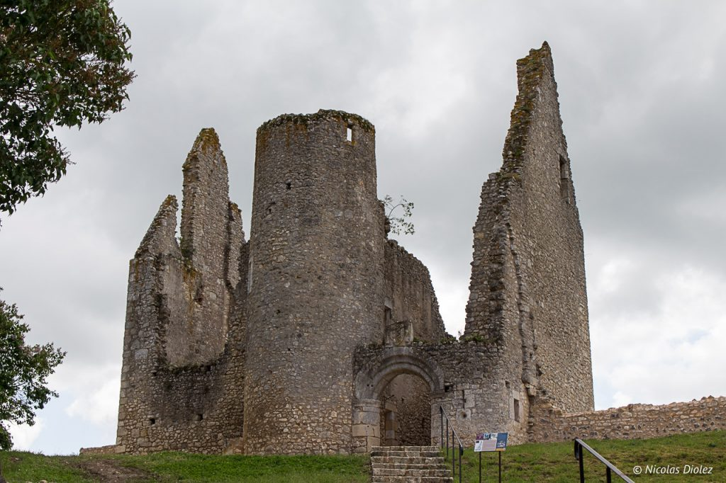 Chateau Angles sur l'Anglin Vienne 86 - DR Nicolas Diolez 2017