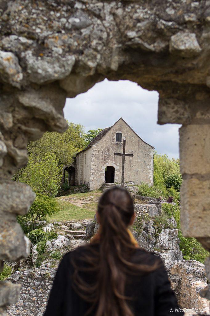 Village d'Angles sur l'Anglin Vienne 86 - DR Nicolas Diolez 2017