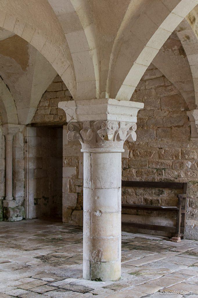 Abbaye de la Réau Vienne 86 - DR Nicolas Diolez 2017