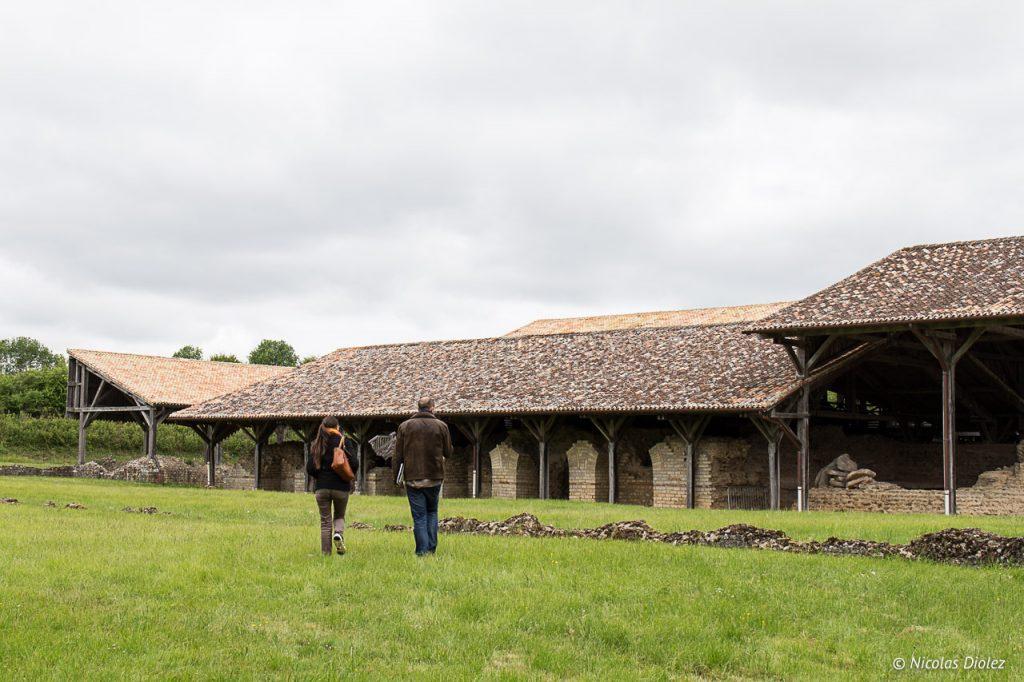 Site archéologique de Sanxay Vienne 86 - DR Nicolas Diolez 2017