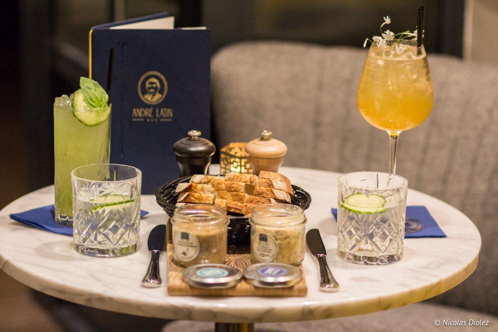 Bar Hotel André Latin Paris - DR Nicolas Diolez 2017