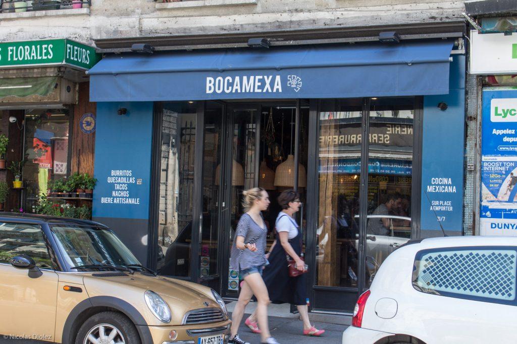 Bocamexa Faubourg Saint Denis Paris - DR Nicolas Diolez 2017
