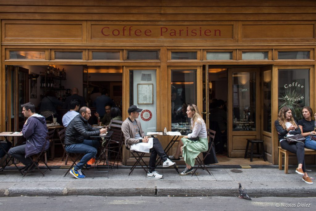 Coffee Parisien Paris - DR Nicolas Diolez 2017