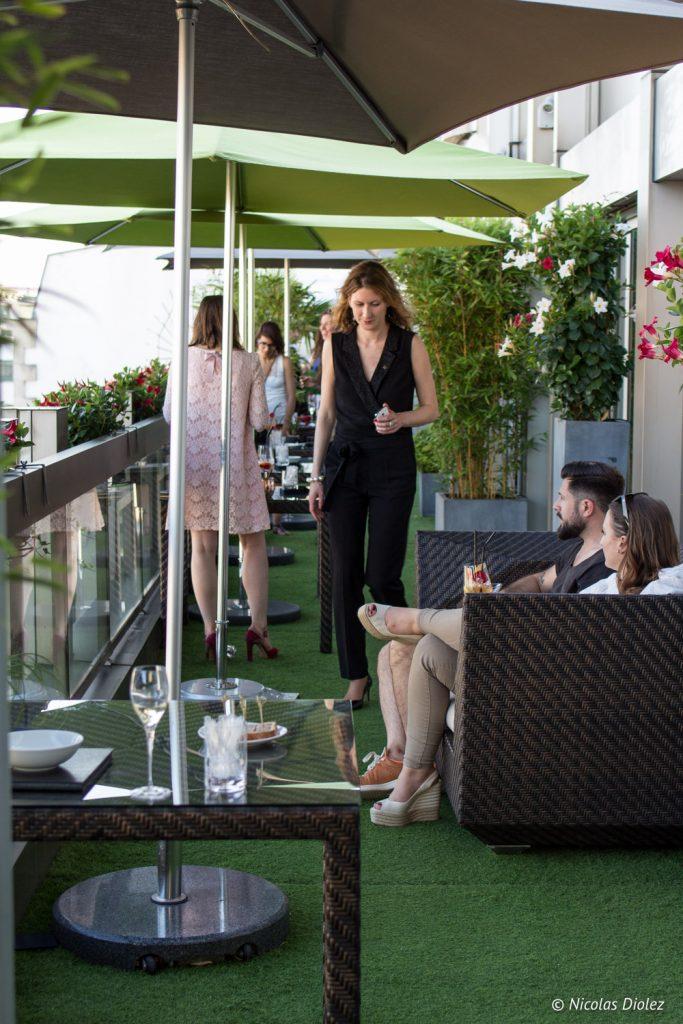 terrasse penthouseHôtel Warwick Champs-Elysées - DR Nicolas Diolez 2017