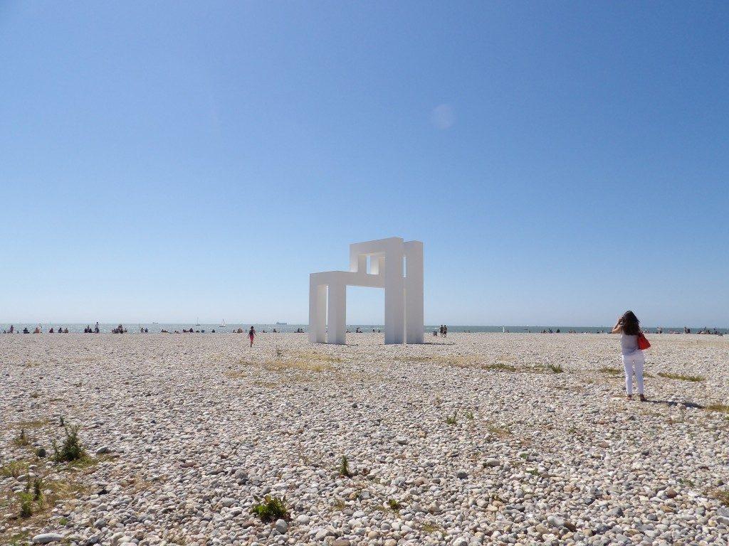 sculpture de Lang et Baumann Le Havre - DR Melle Bon Plan 2017